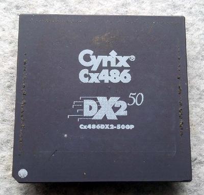 PC MUZEUM - starý procesor Cyrix Cx486 DX2-50 pro sběratele