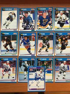 Hokejové kartičky Score 1991-92 LOT 13 ks