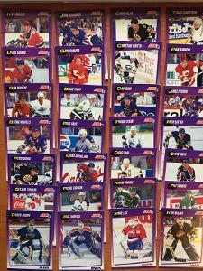 Hokejové kartičky Score 1991-92 LOT 28ks