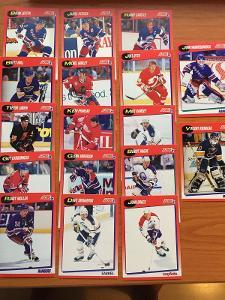 Hokejové kartičky Score 1991-92 LOT 17ks