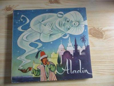 ALADIN - STARÉ LEPORELO ( KUBAŠTA - solidní stav, více foto dole ) !!