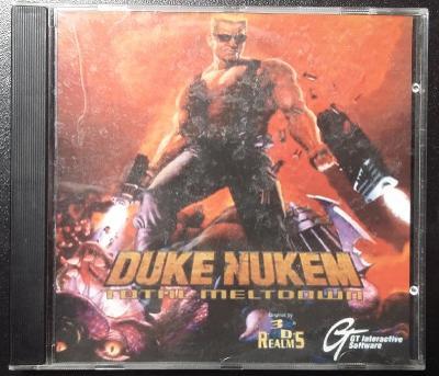 Stará PC hra DUKE NUKEM 3D - 1996 (GAMESTAR) - originální CD!