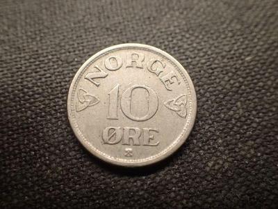 Norsko 10 Ore 1954