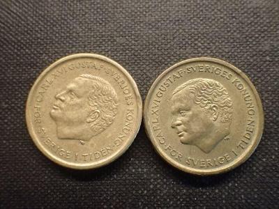 Švédsko 10 Krone 1991,1993