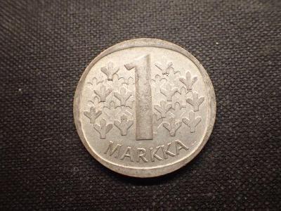 Finsko 1 Marka 1968, Ag ( bilon)