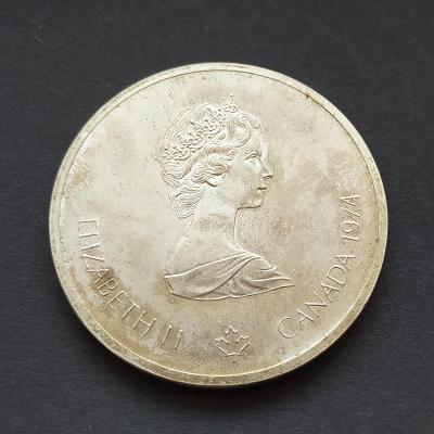 Stříbro - 10 Dollar 1973 - OH Montreal 1976
