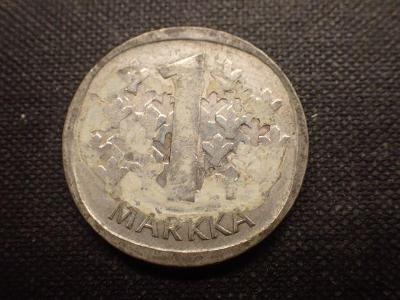 Finsko 1 Marka 1965 Ag ( bilon)
