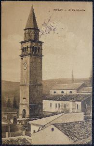 Chorvatsko - Istrie - Pisino - Ji Campanlie - 1918
