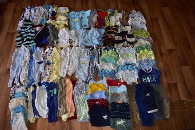 Set oblečení pro chlapce-100 ks-vel.50-86
