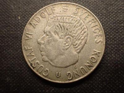 Švédsko 1Krone 1968, Ag