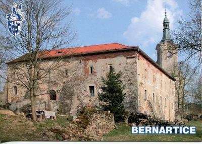 Bernartice (Tachov), zámek, erb