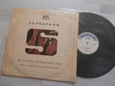 1X LP BEAT - LINE SUPRAPHON 1968 (THE REBELS,..)