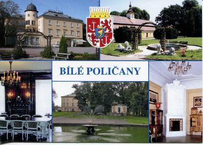 Bílé Poličany (Trutnov), zámek, erb