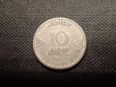 Norsko 10 Ore 1909, Ag