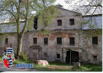 Byšice (Mělník), zámek
