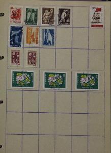 Známky - Bulharsko, Maďarsko, Jugoslávie  - 18 ks