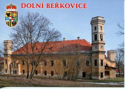 Dolní Beřkovice (Mělník), zámek, erb