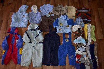 Set zimního oblečení pro chlapce-30ks-vel.50-86 (č.2)