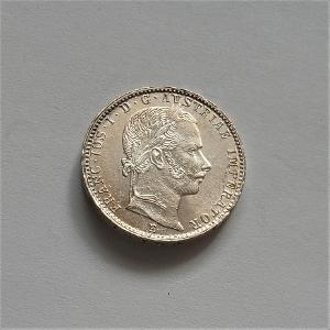 1/4 zlatník 1859 E - vzácnější ,velmi pěkný