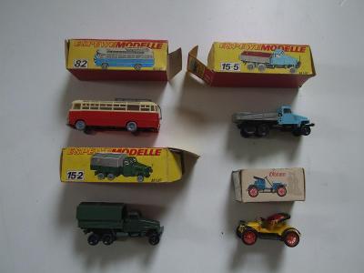 modely autíček NDR
