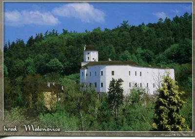 Malenovice (Zlín), hrad
