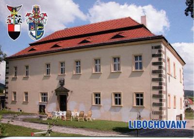 Libochovany (Litoměřice), zámek, erb