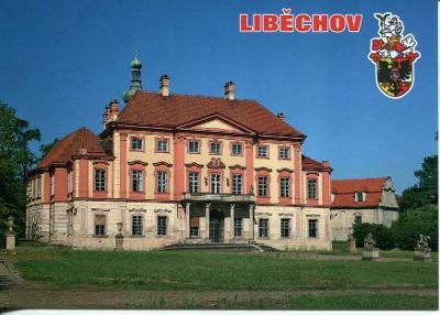 Liběchov (Mělník), zámek, erb