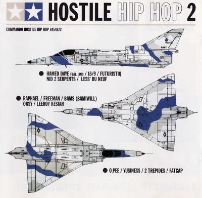 CD Hostile Hip Hop 2