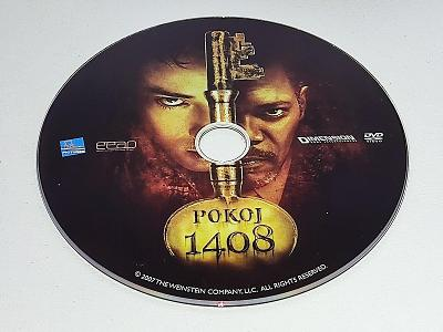 POKOJ 1408 / DVD NEŠKRÁBLÉ - BEZ OBALU