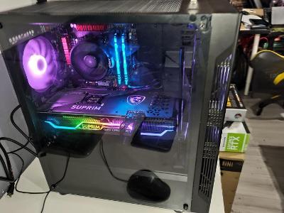 PC Ryzen 5 2600, 3.4GHz, 16GB DDR4 3600, RTX 3070, SSD M.2 1TB Samsung