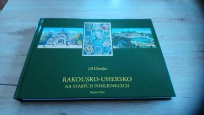 Rakousko-Uhersko na starých pohlednicích,Nová kniha-TOP