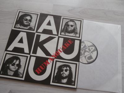1X LP AKU - AKU - HUMANQUAKE (1990)
