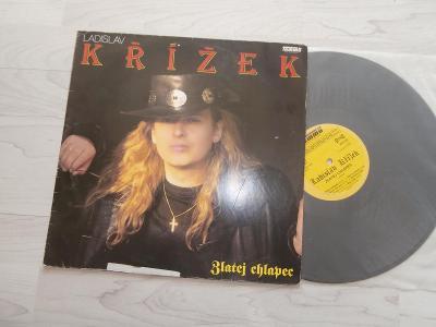 1X LP LADISLAV KŘÍŽEK - ZLATEJ CHLAPEC  (1992)