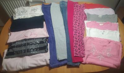 Sada dívčího oblečení vel. 134