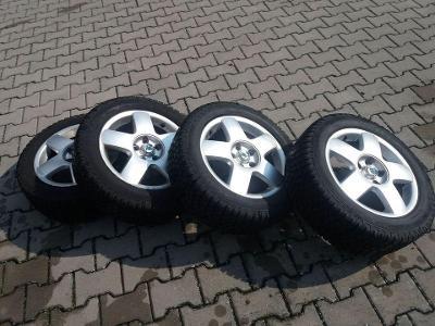 Zimní kola, pneumatiky s disky 195/55 r15 Fabia II