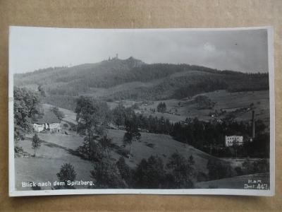 Špičák Jablonec nad Nisou Jizerské hory