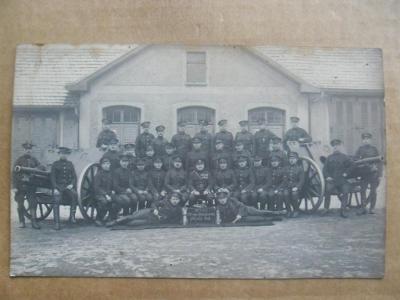 Terezín Litoměřice vojsko vojáci dělostřelectvo