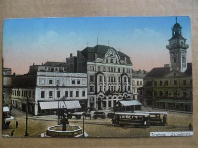 Český Těšín Teschen Karviná tramvaj