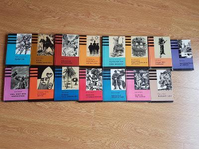 Konvolut kodovek, kódovky 15 knih!