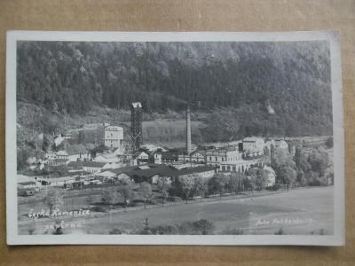 Česká Kamenice Böhm. Kamnitz Děčín továrna papírna