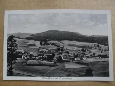 Vernéřovice Wernersdorf Broumov Náchod Braunau