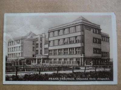 Praha Vršovice škola