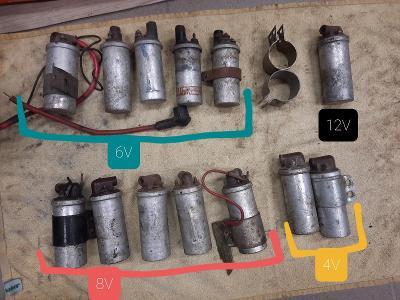Jawa ČZ 50 175 250 350 pionýr babetta kývačka panelka zapalovací cívka