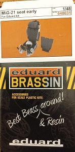sedadlo Mig-21 early 1/48 Eduard Brassin