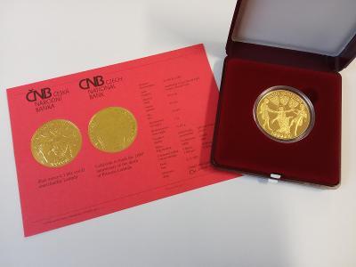 Zlatá mince 10000 Kč Kněžna Ludmila 2021 Proof