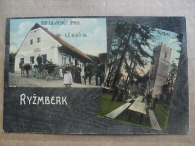 hrad rozhledna Rýzmberk Kdyně Domažlice Šumava