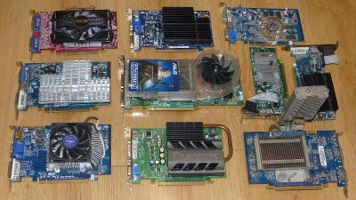 #3 - Grafické karety PCI-e 10Ks