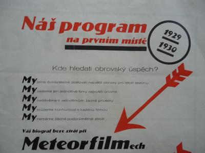 METEOR  FILM - produkce  1929 - 1930
