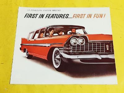 --- Plymouth Station Wagons (1959) ------------------------------- USA