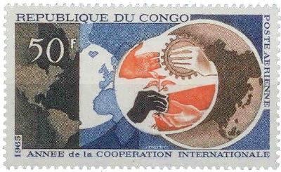 Kongo 1965 Mezinárodní spolupráce Mi# 82 0585